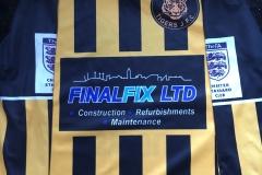 Final Fix Sponsor Local Football Team Dukinfield Tigers