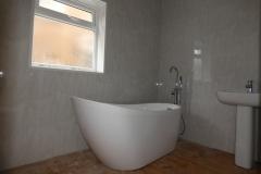 bathroom installation completed